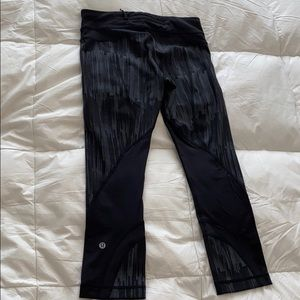"lululemon athletica Pants - Lululemon Run Inspire Crop 22"""